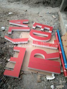 Harga Huruf Timbul Bandung & Cimahi 2020